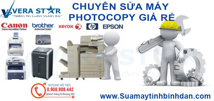 Sửa Máy Photo Giá Rẻ