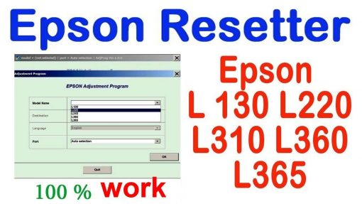 Phan mem reset may in Epson L310