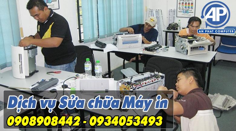 Dịch vụ Sửa chữa Máy In Quận Gò Vấp HCM 24 Quận Giá Rẻ