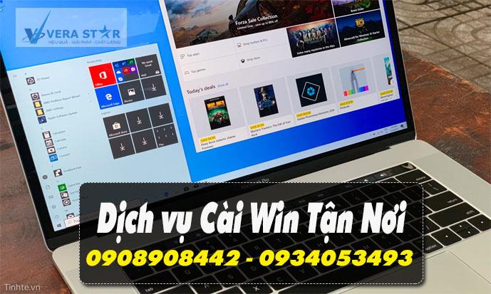 Dịch vụ Cài Win Đường Nguyễn Thái Sơn Quận Gò Vấp