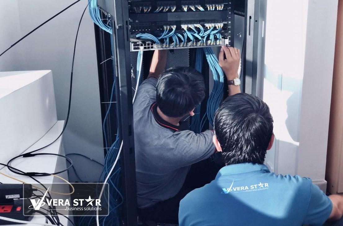 Công Ty Thi Công mạng LAN chuyên nghiệp tại TPHCM - VERA STAR
