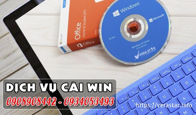Dịch vụ Cài Win Quận Gò Vấp giá rẻ - VERA STAR